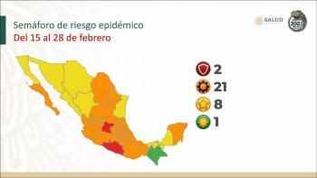 Puebla no cambiará a semáforo a naranja como lo indican autoridades federales