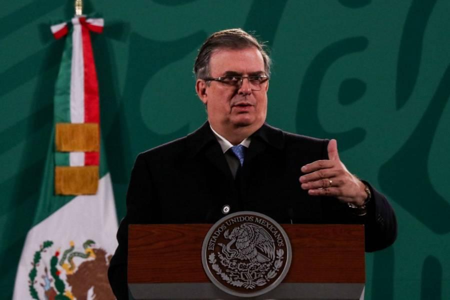 Marcelo Ebrard asegura que hay 232 millones de dosis contratadas para México