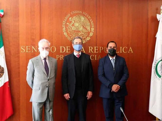 Ratifica Senado a Esteban Moctezuma como embajador de México en Estados Unidos