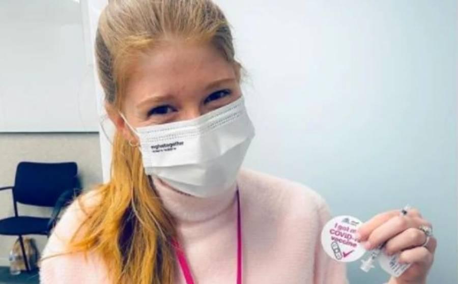 El sarcástico comentario de Jennifer, hija de Bill Gates, tras recibir vacuna contra COVID-19