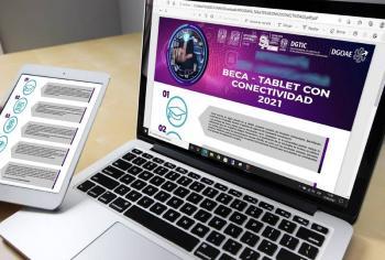 La UNAM entregó nueve mil tabletas con internet a su comunidad estudiantil