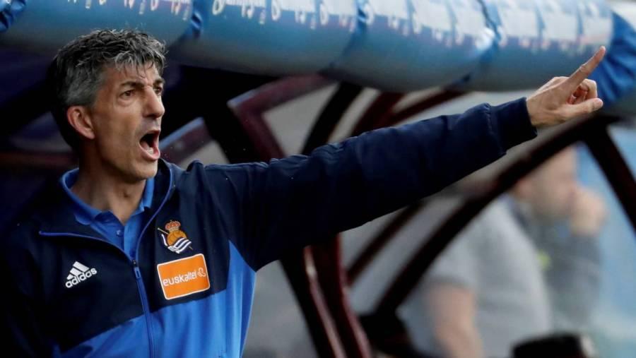 Imanol Alguacil: Real Sociedad está lista para jugar