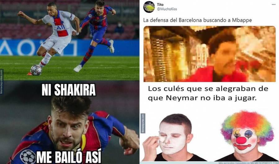 Los memes sin piedad contra el Barcelona