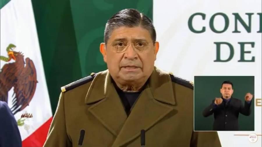 Titular de la Sedena, Luis Cresencio Sandoval, positivo a Covid-19