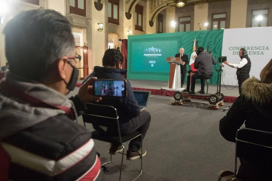 Apagones no sólo son en México, sino también en EEUU, asegura AMLO