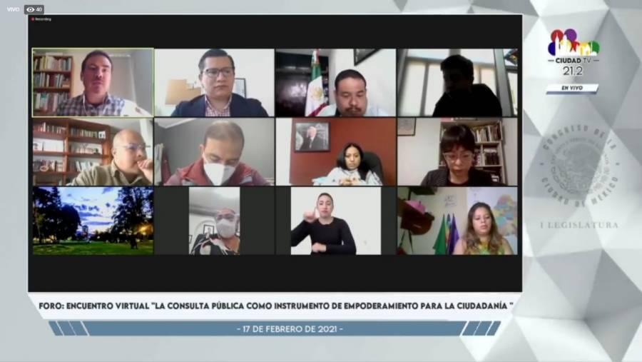 Fortalecer los mecanismos de democracia directa y participativa en la Ciudad de México, llaman especialistas