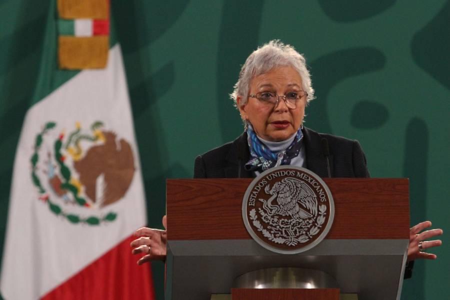 Sánchez Cordero: El respeto a las mujeres, condición necesaria para ser candidato a un cargo popular