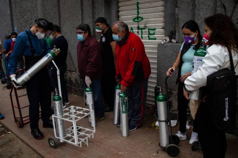 Disrupción en distribución, causa de escasez de oxígeno