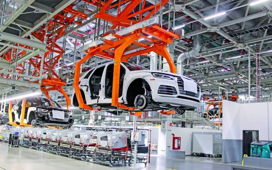Audi, VW, General Motors y Mazda ajustan producción en México por restricción de gas natural