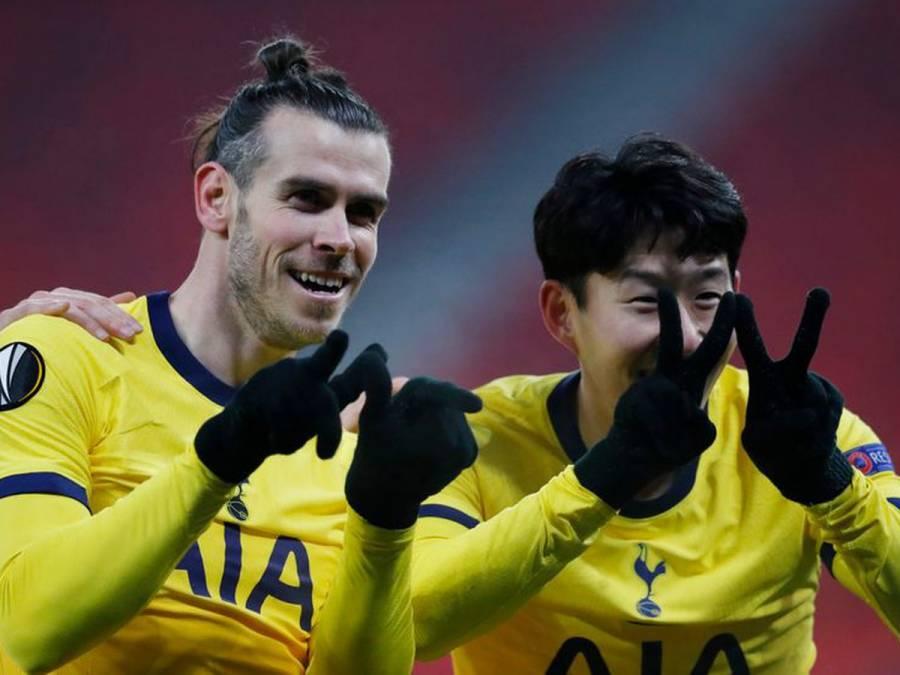 United y Tottenham con un pie en octavos de final de la Europa League