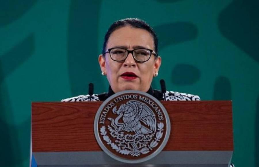 Feminicidios, violaciones y trata de personas disminuyen en enero: Rosa Icela Rodríguez