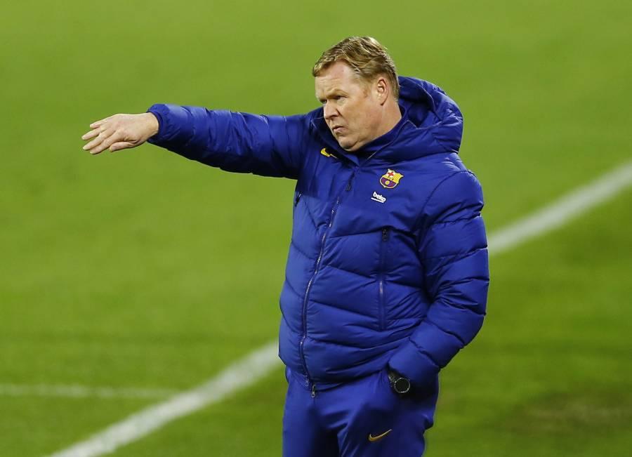 Barcelona aún está vivo en las tres competiciones, recuerda Koeman
