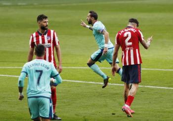 Atlético de Madrid cae ante el Levante y reabre LaLiga