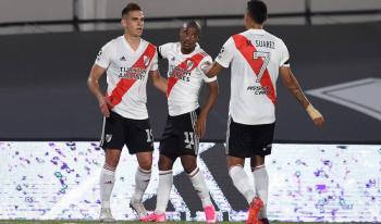 River Plate vence al Rosario Central en liga de Argentina