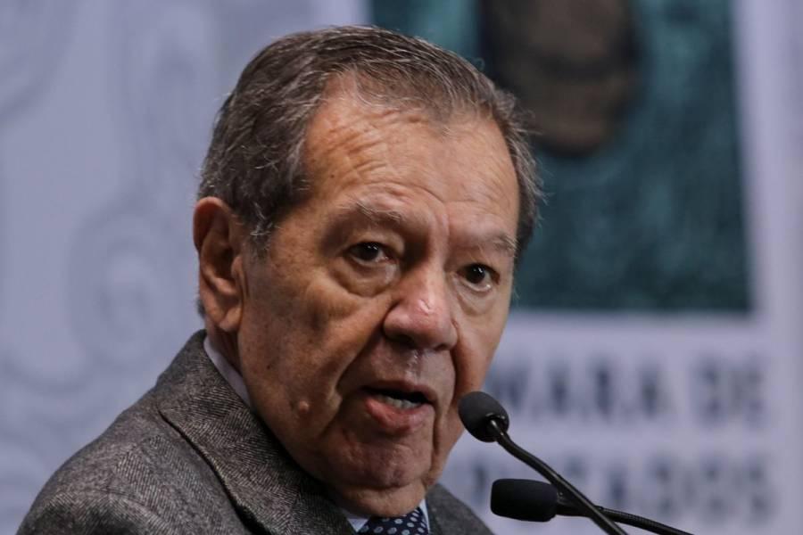 Muñoz Ledo advierte que reforma energética de AMLO podría incumplir acuerdos internacionales