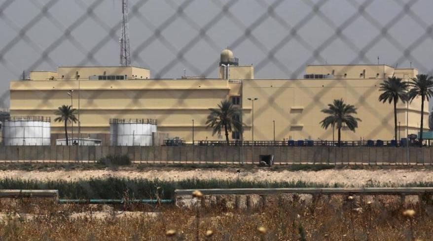Atacan Embajada de EEUU en Bagdad