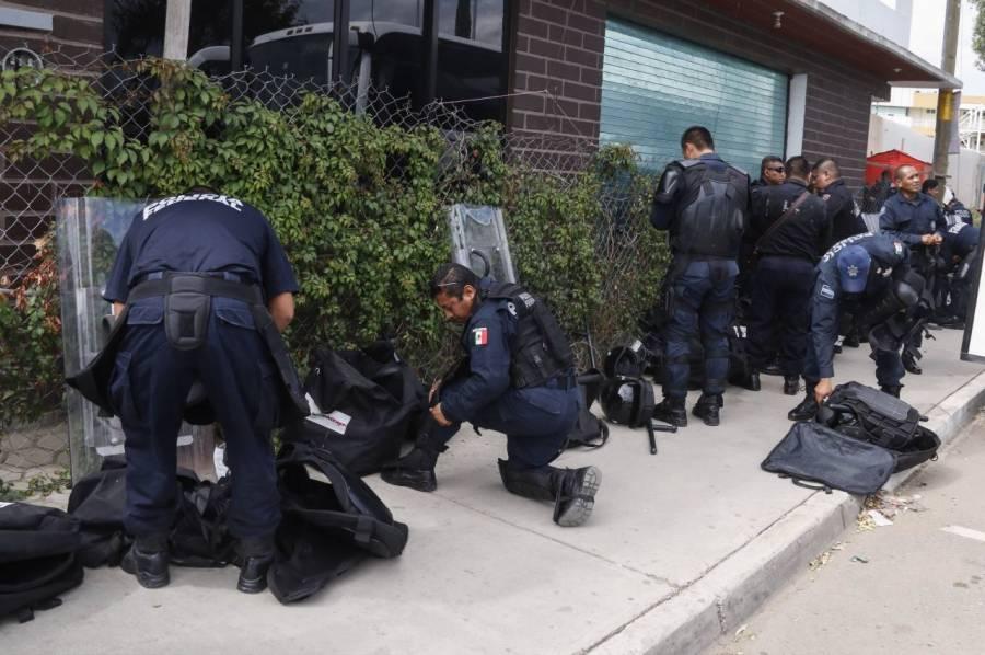 En Oaxaca, proponen reforma para basificar a policías, y dotarlos de prestaciones de ley