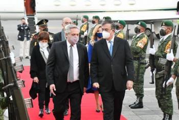 Alberto Fernández, presidente de Argentina, llega a México; esta es su agenda