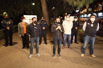 Policía Covid disipa más de 500 reuniones en Miguel Hidalgo
