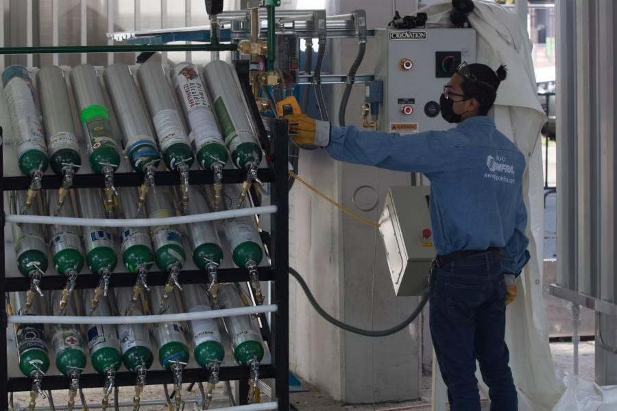 Gobierno quita aranceles a importación de  vacunas antiCovid y tanques de oxígeno