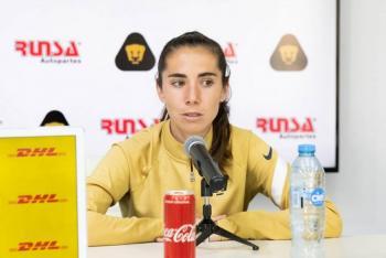 Trabajamos para que Pumas esté en lo más alto: Deneva Cagigas