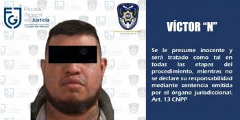 FGJ captura en Querétaro a sujeto por presunta corrupción de menores