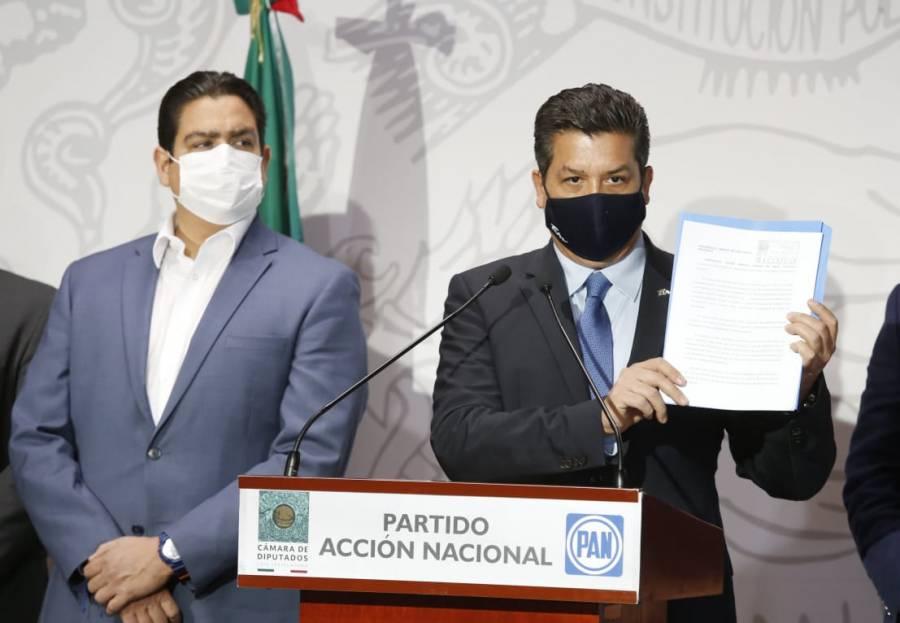 Acusa Cabeza de Vaca persecución desde Palacio Nacional