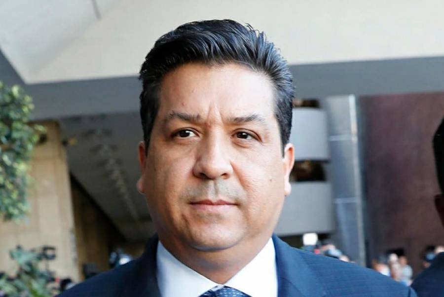 Llega el gobernador de Tamaulipas a la Cámara de Diputados