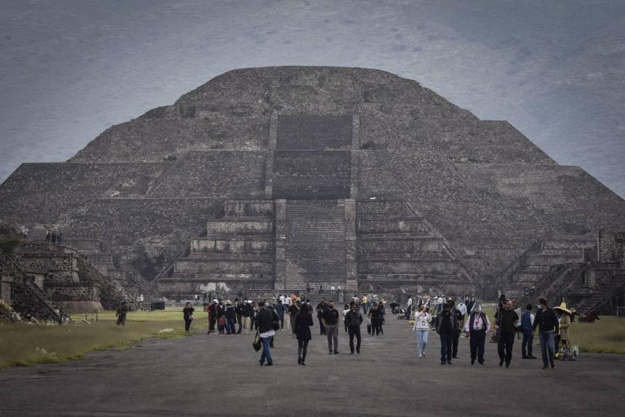 Reabre este miércoles zona arqueológica de Teotihuacán