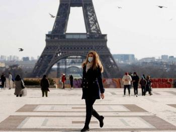 Observa Francia situación muy preocupante por Covid en 10 departamentos