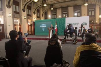 López Obrador agradece a diputados por aprobación de Reforma Eléctrica