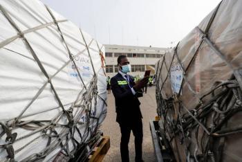 Ghana, primer país en recibir las vacunas del programa COVAX