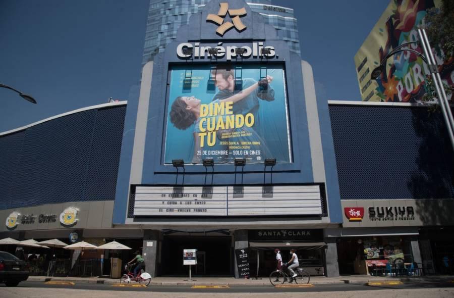 Cines podrán reabrir este lunes en la CDMX y Edomex