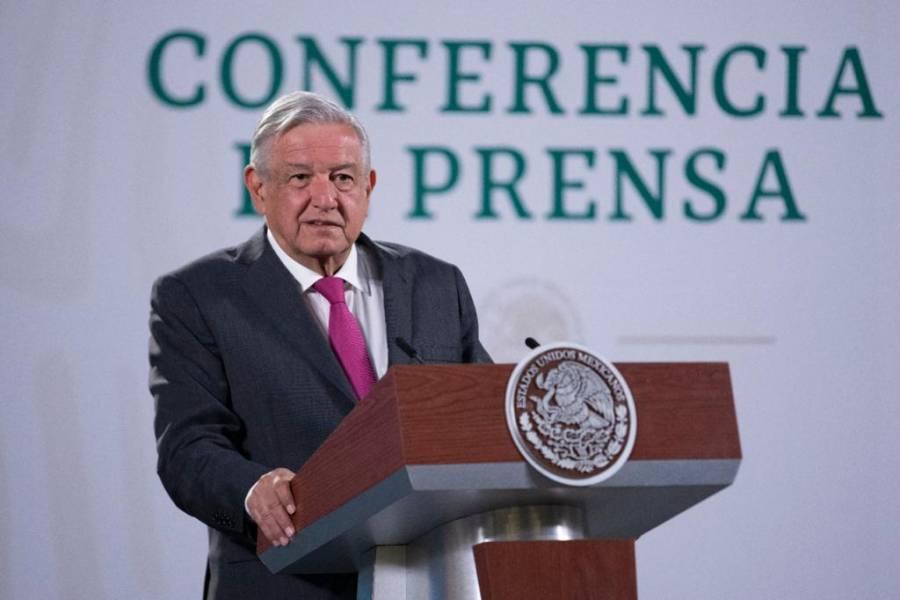 Se financiará Tren Maya con ahorros de cancelación de NAIM, dice López Obrador