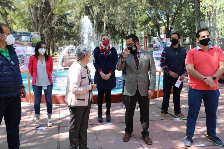 Entregan obras de rehabilitación de camellón de Horacio en Miguel Hidalgo