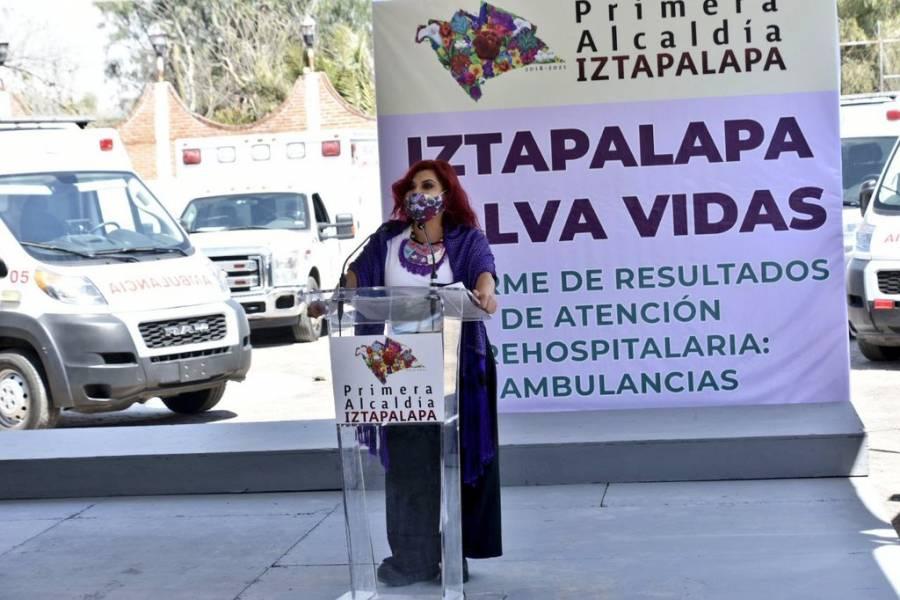 Iztapalapa, alcaldía con más ambulancias
