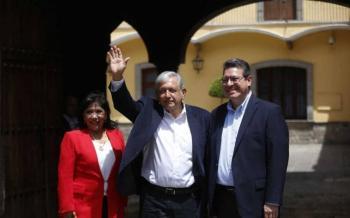 AMLO se reúne con gobernador de Tlaxcala