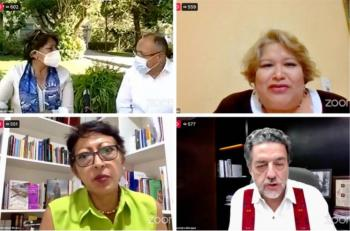Fundamental, recordar conmemoraciones patrias: Delfina Gómez