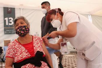 Continúa vacunación, ahora en Iztacalco, Tláhuac y Xochimilco