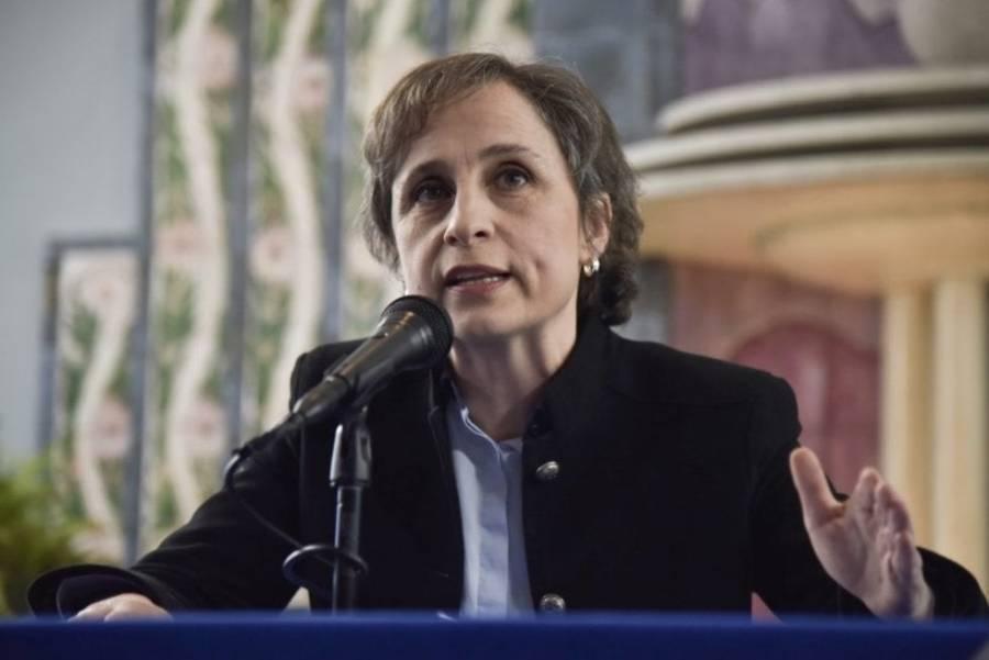 Regresa a la televisión abierta Carmen Aristegui