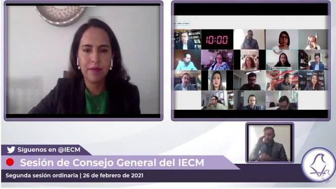 IECM informa sobre quejas de elecciones locales 2021