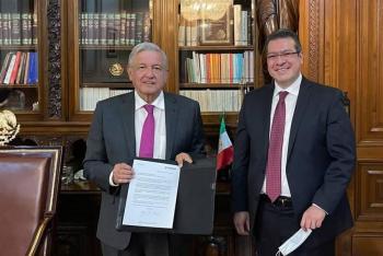 Gobernadores priistas aceptan pacto democrático de López Obrador