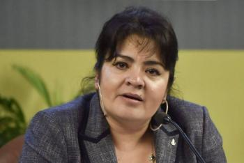 Nestora Salgado levanta la mano tras revés a Salgado Macedonio por Guerrero