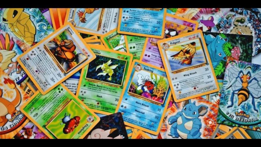 Cartas de Pokémon, un atractivo en las subastas