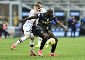 El Inter se impone a Genoa con gol de Lukaku a los 32 segundos