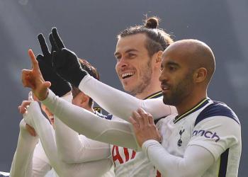 Gareth Bale firma doblete en la goleada del Tottenham frente al Burnley