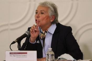 Olga Sánchez acusa violencia de género en reuniones de Seguridad