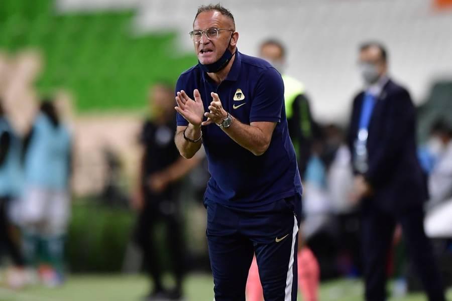 Andrés Lillini desmiente supuesto despido como DT de Pumas