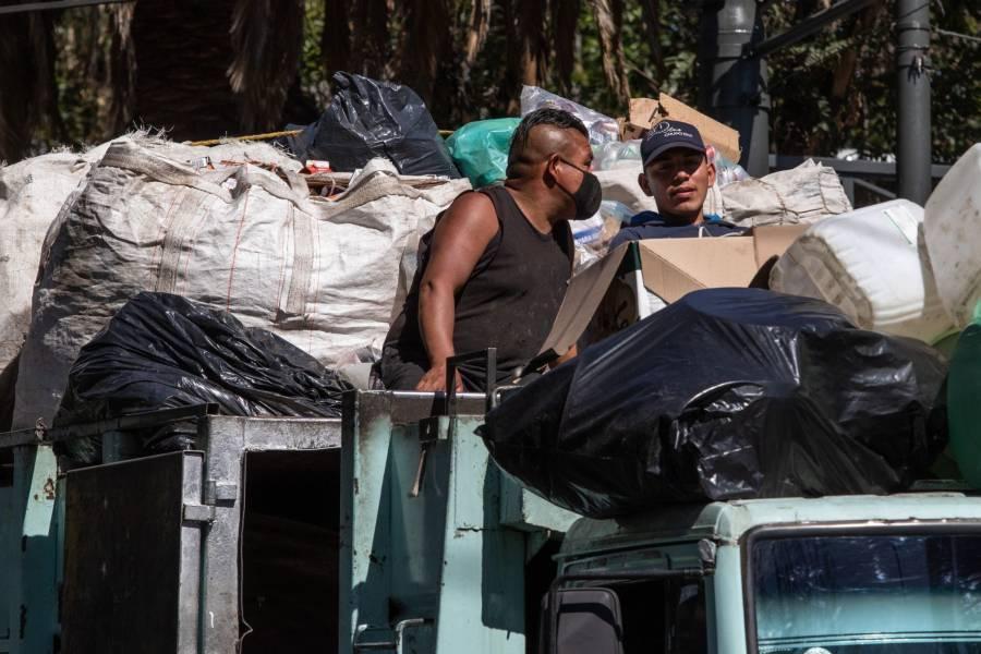 Piden a la CDMX reconocer a trabajadores voluntarios de limpia