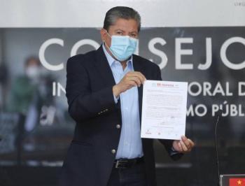 David Monreal se regista como candidato a la gubernatura de Zacatecas